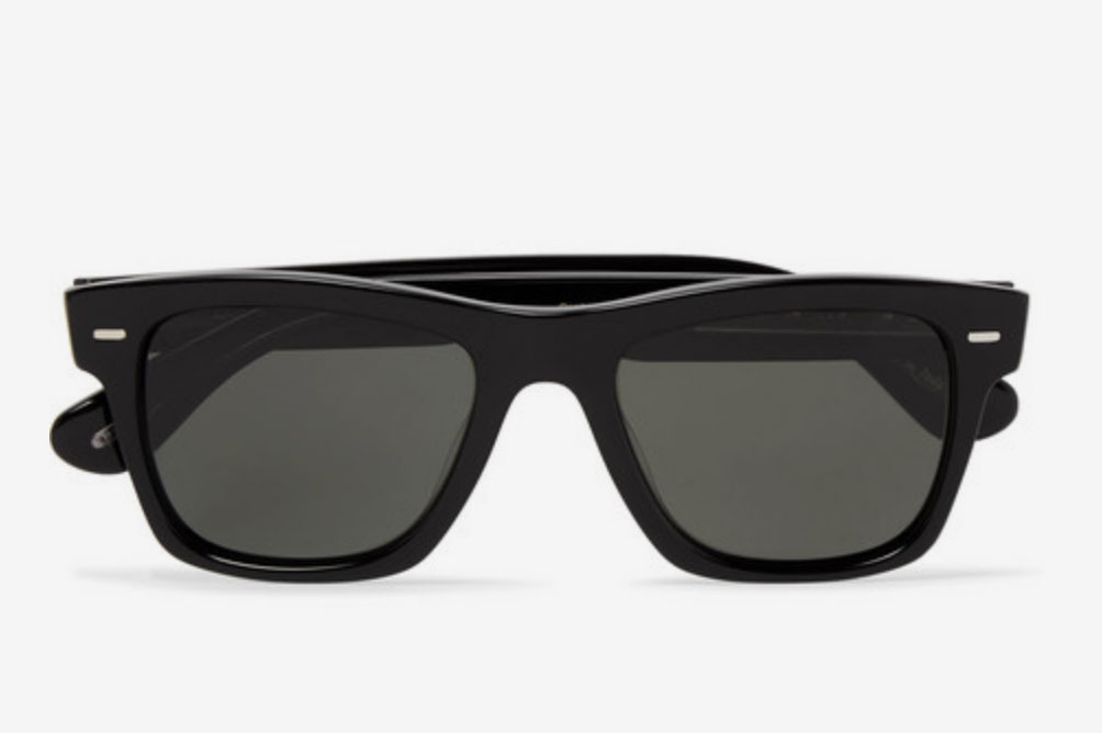 b14c1c626b Oliver Peoples Oliver Sun Square-Frame Acetate Polarised Sunglasses. Unless  you are Tom Ford ...