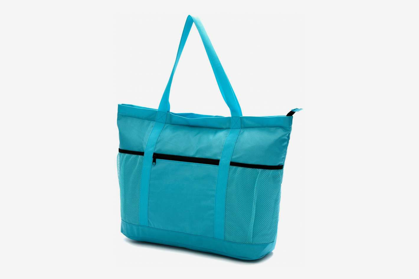 Large Beach Bag With Zipper