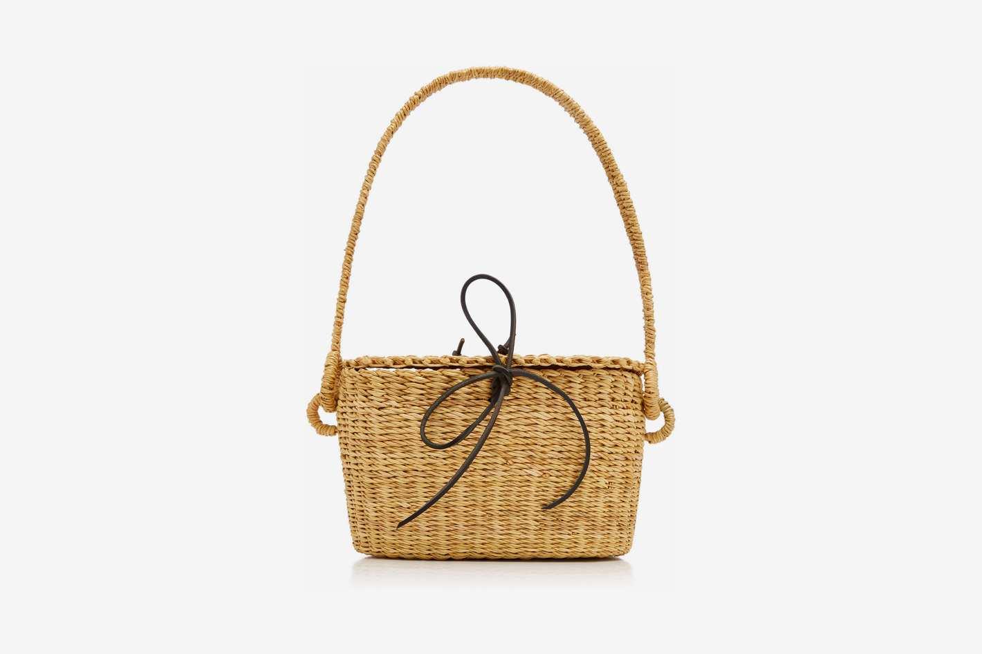 Muun Jeanne Mini Straw Bag