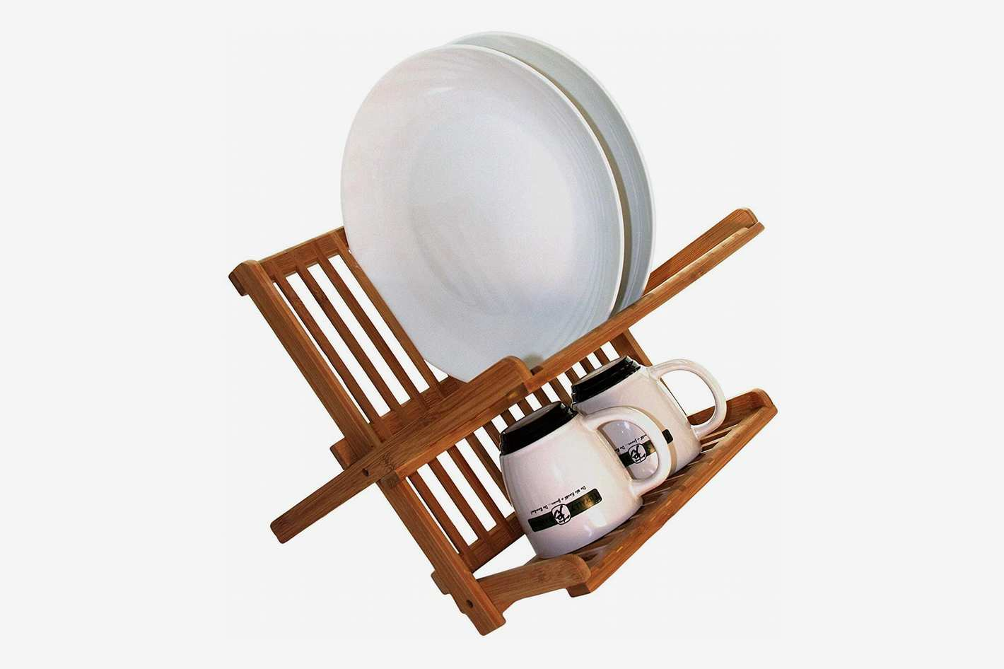 Totally Bamboo 20-8517 Dish Drying Rack, Brown