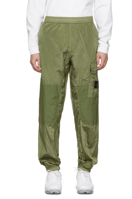 Stone Island Green Ripstop Cargo Pants