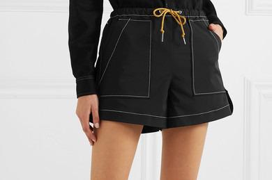 Ganni Shell shorts