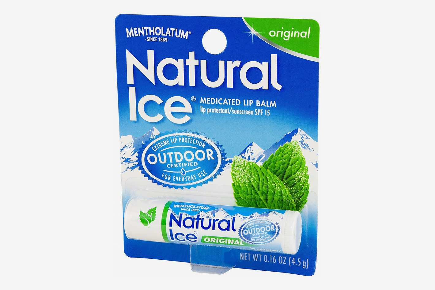Mentholatum Natural Ice Lip Balm