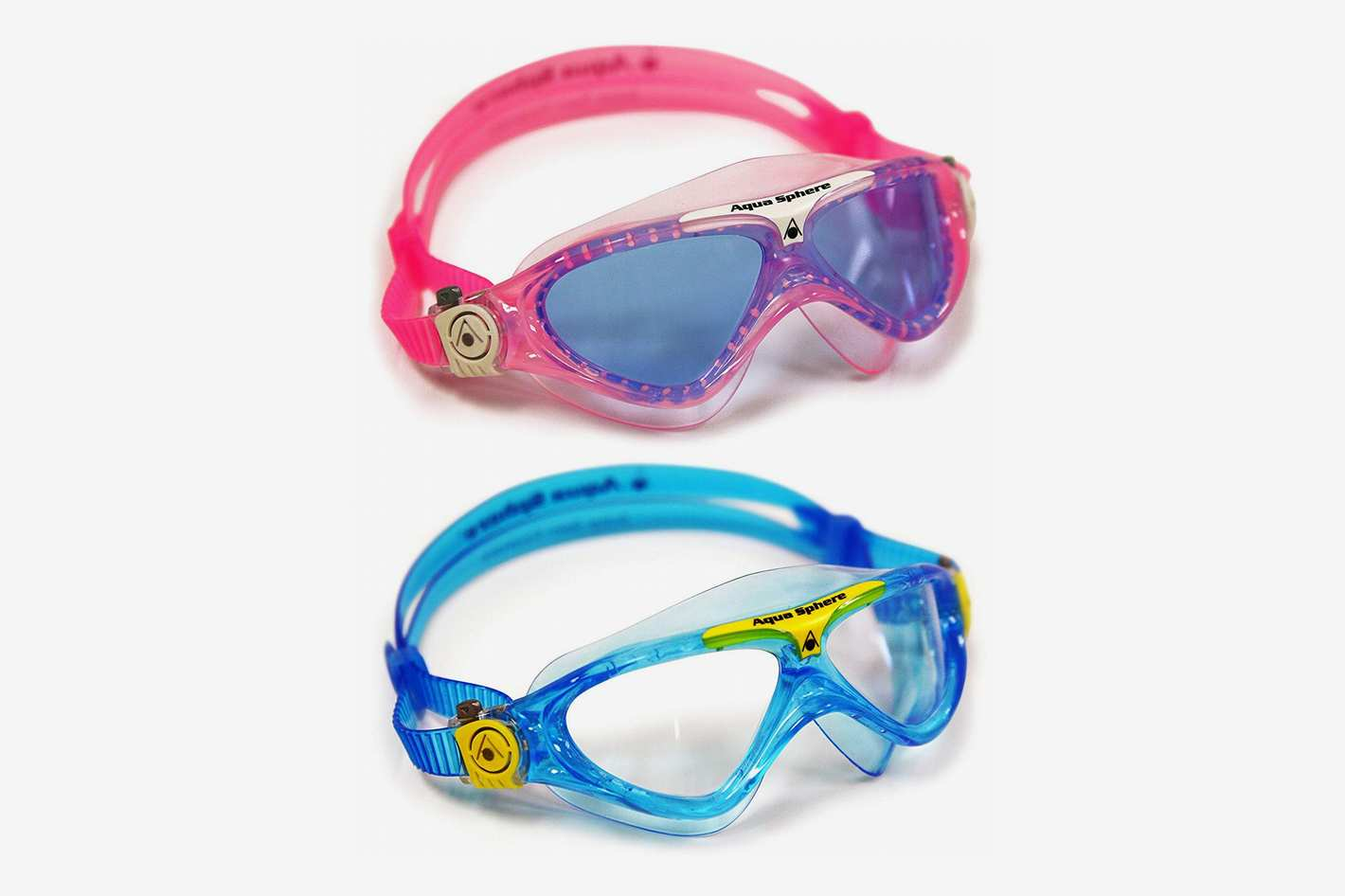Aqua Sphere Vista Junior Swim Goggles 2-Pack