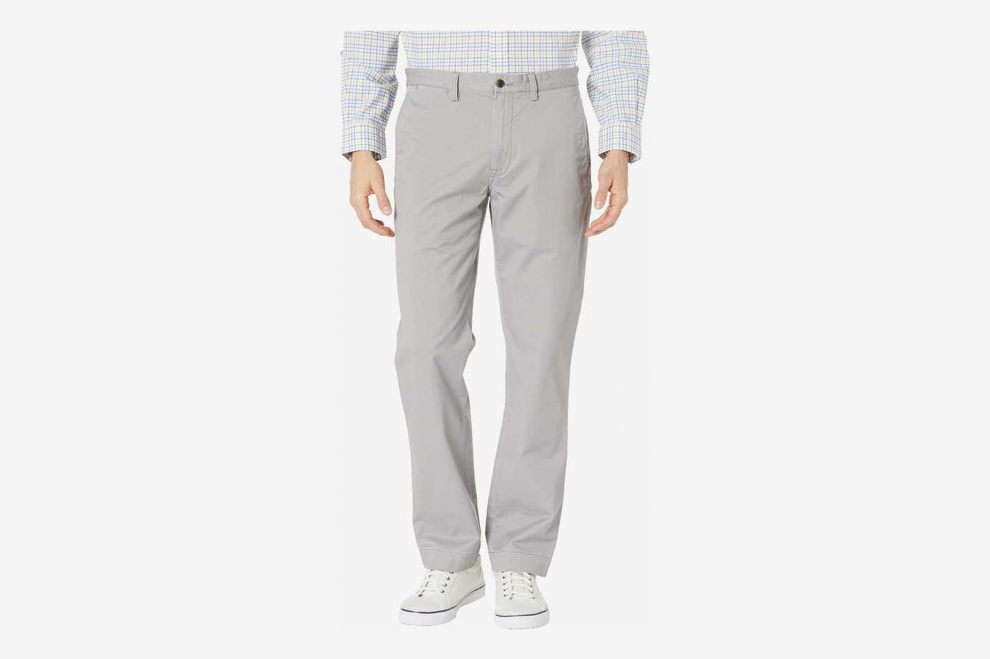 Polo Ralph Lauren Cotton Stretch Twill Bedford Flat Pants