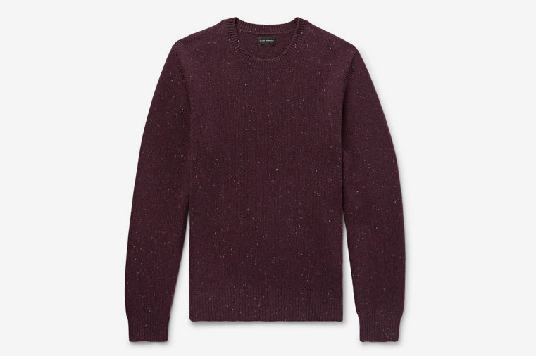 Club Monaco Mélange Merino Wool Sweater