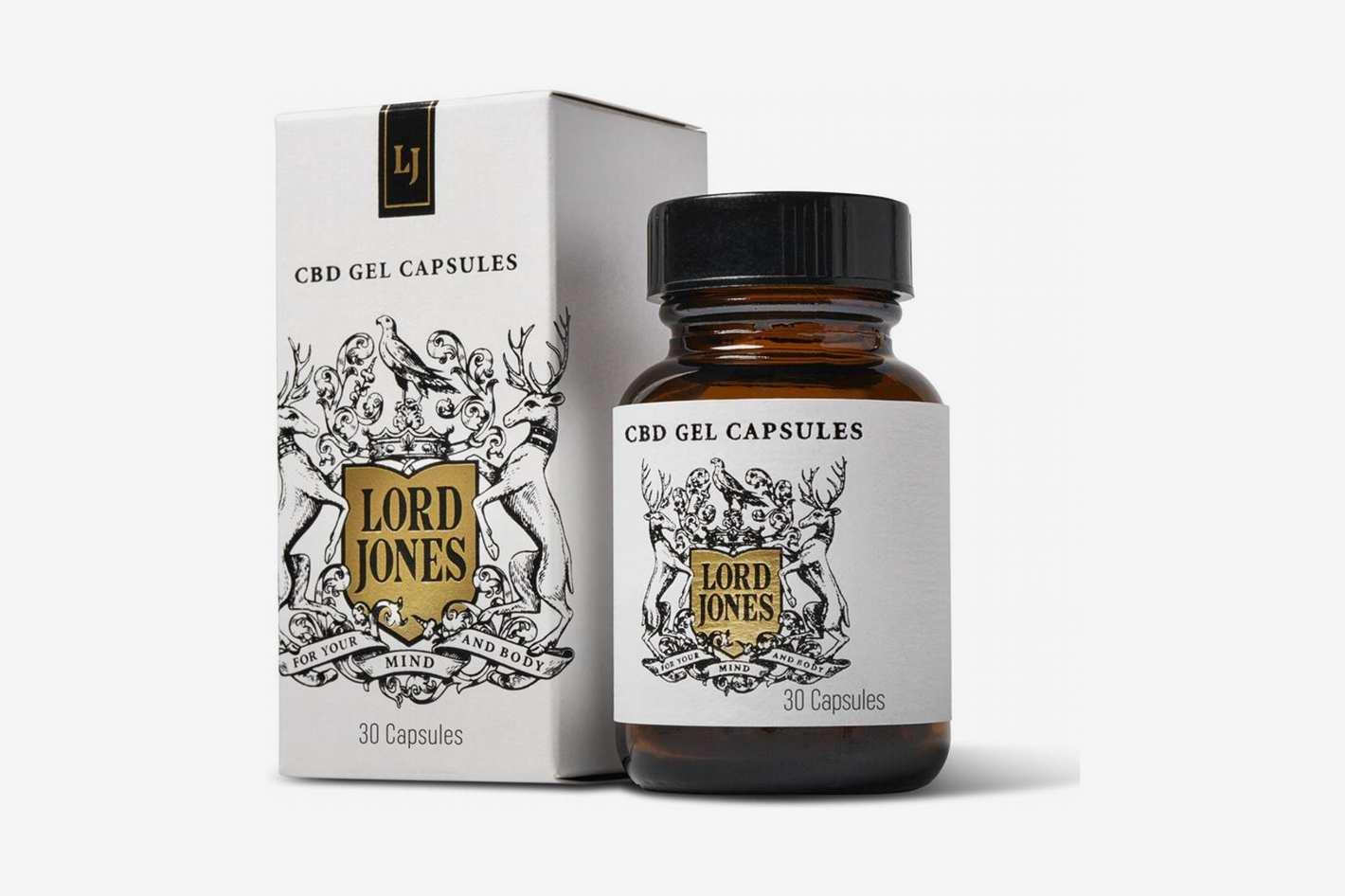 Lord Jones High CBD Gel Capsules