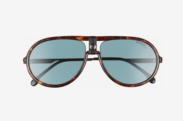 Carrera Eyewear Polarized Aviator Sunglasses