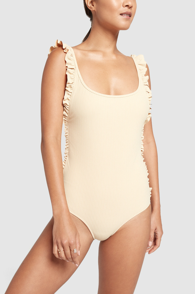 Made by Dawn Ruffle Petal One-Piece Swimsuit