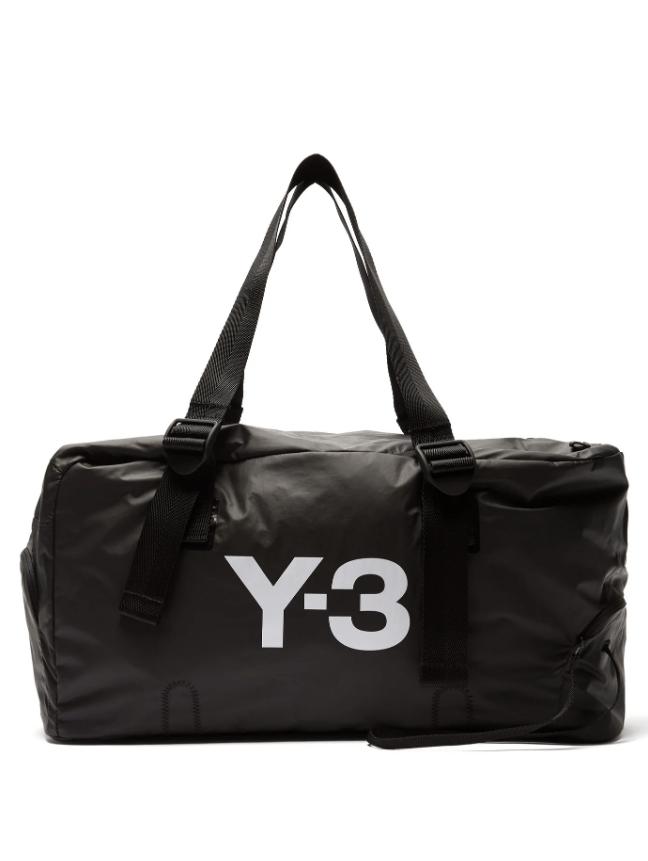 Y-3  Bungee logo-print weekend bag