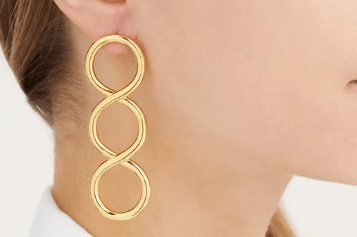 JW Anderson Twisted earrings