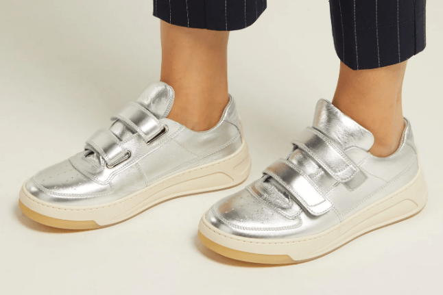Acne Studios Low-top leather trainers
