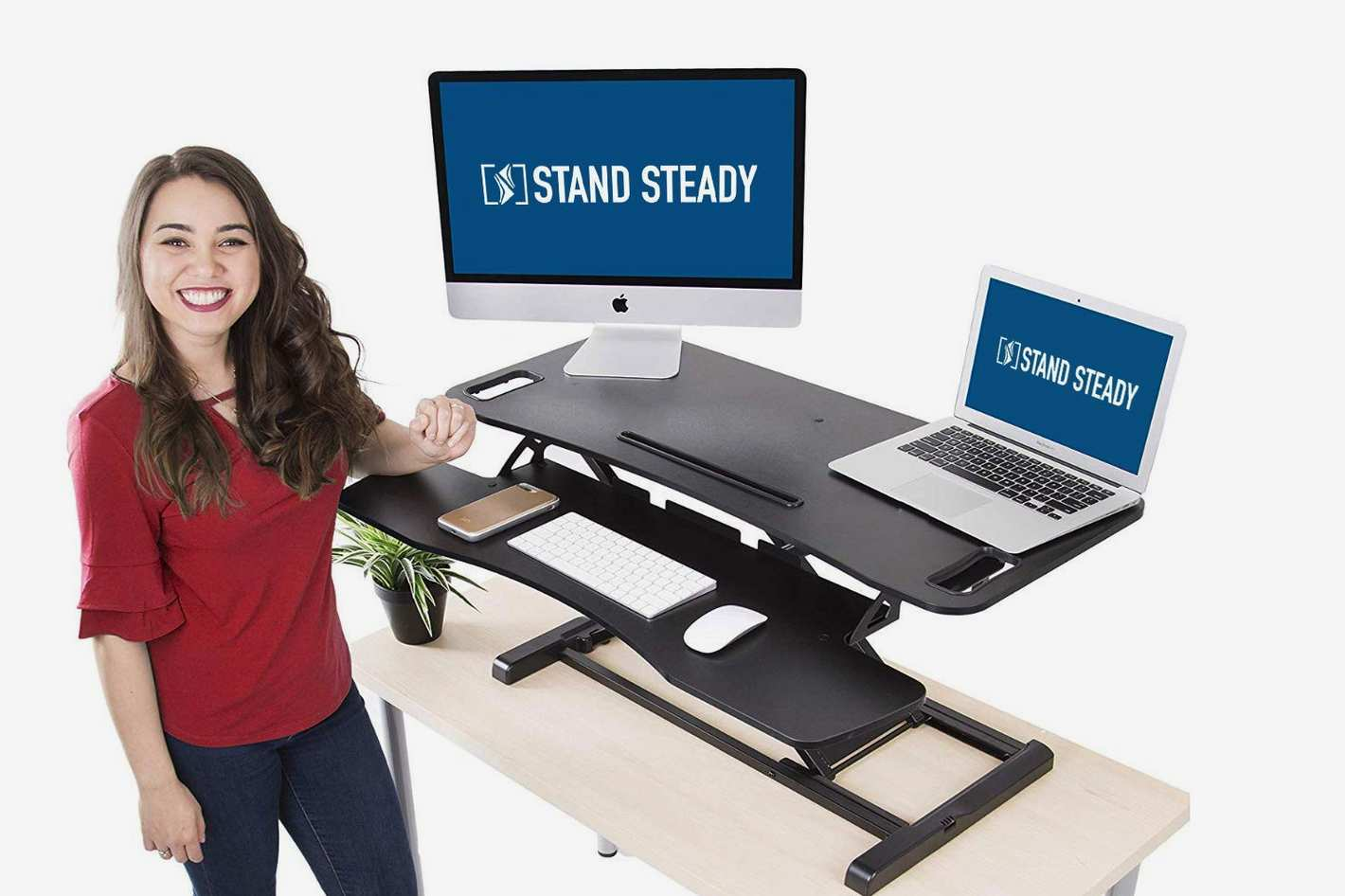 Stand Steady Flexpro Hero Two Level Standing Desk