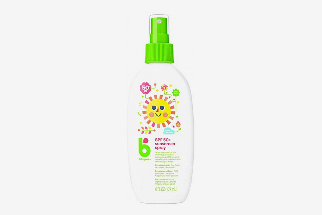 Babyganics Baby Sunscreen Spray SPF 50 Spray Bottle
