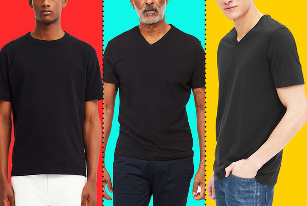 2ea357404cd1d4 What's the Best Black T-shirt for Men?For the gym, for the weekend, and  even for wearing with a suit.
