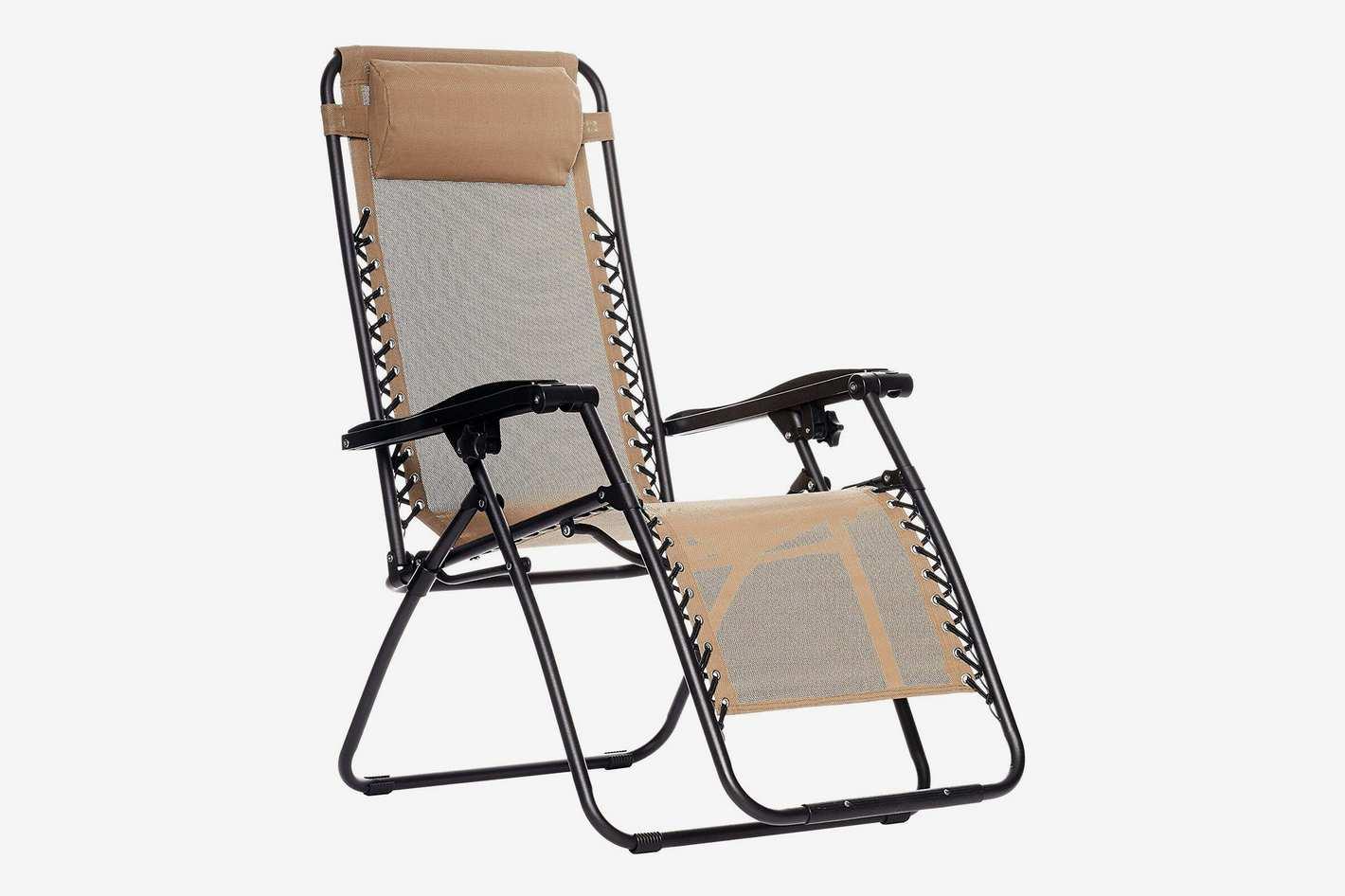AmazonBasics Zero-Gravity Chair - Beige