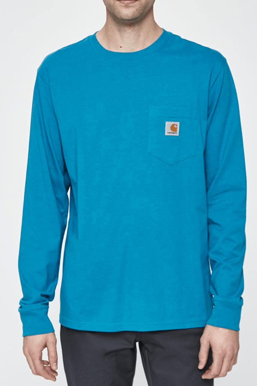Carhartt WIP L/S Pocket T-Shirt in Pizol