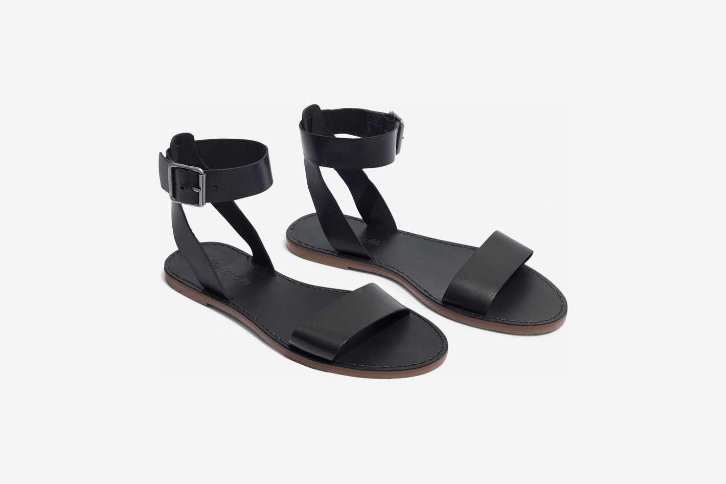 Madewell Boardwalk Ankle Strap Sandal