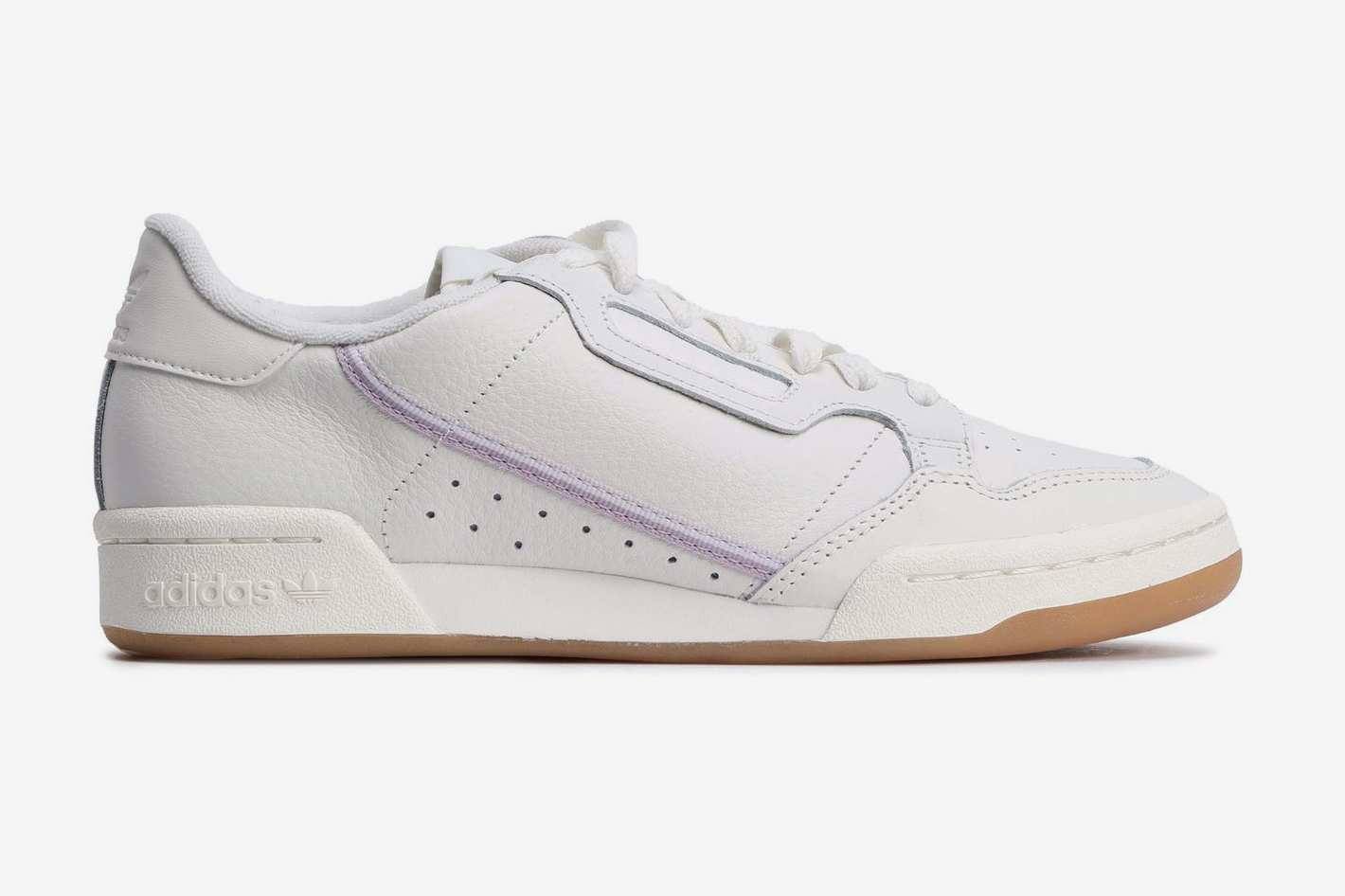 Adidas Originals Continental 80 Grosgrain-trimmed Textured-leather Sneakers