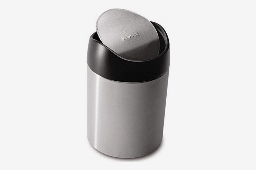 Simplehuman 1.5 Liter/.4 gallon Countertop Trash Can