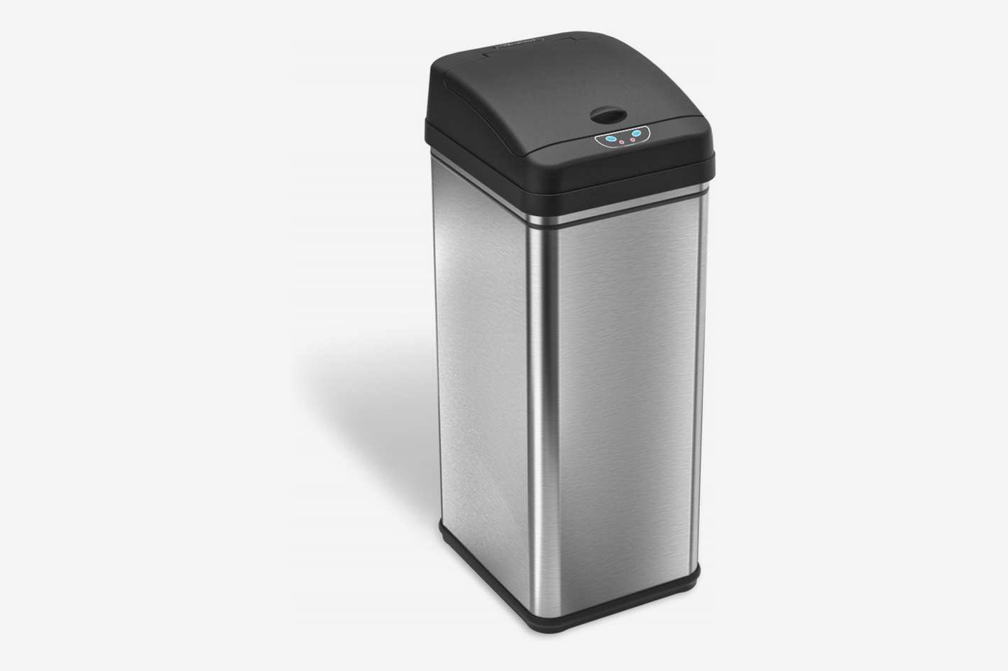 iTouchless 13 Gallon Stainless Steel Trash Can