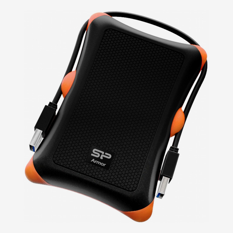 Silicon Power 1TB Rugged Portable External Hard Drive Armor A30, Shockproof USB 3.0