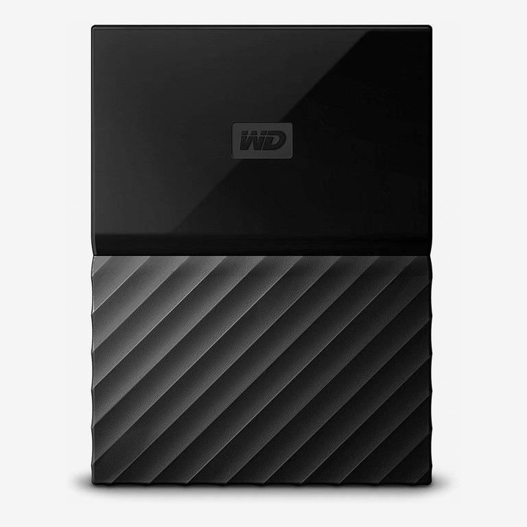 Western Digital 1TB Black My Passport Portable External Hard Drive