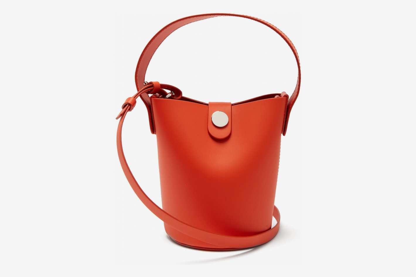 Sophie Hulme Nano Swing Leather Bucket Bag