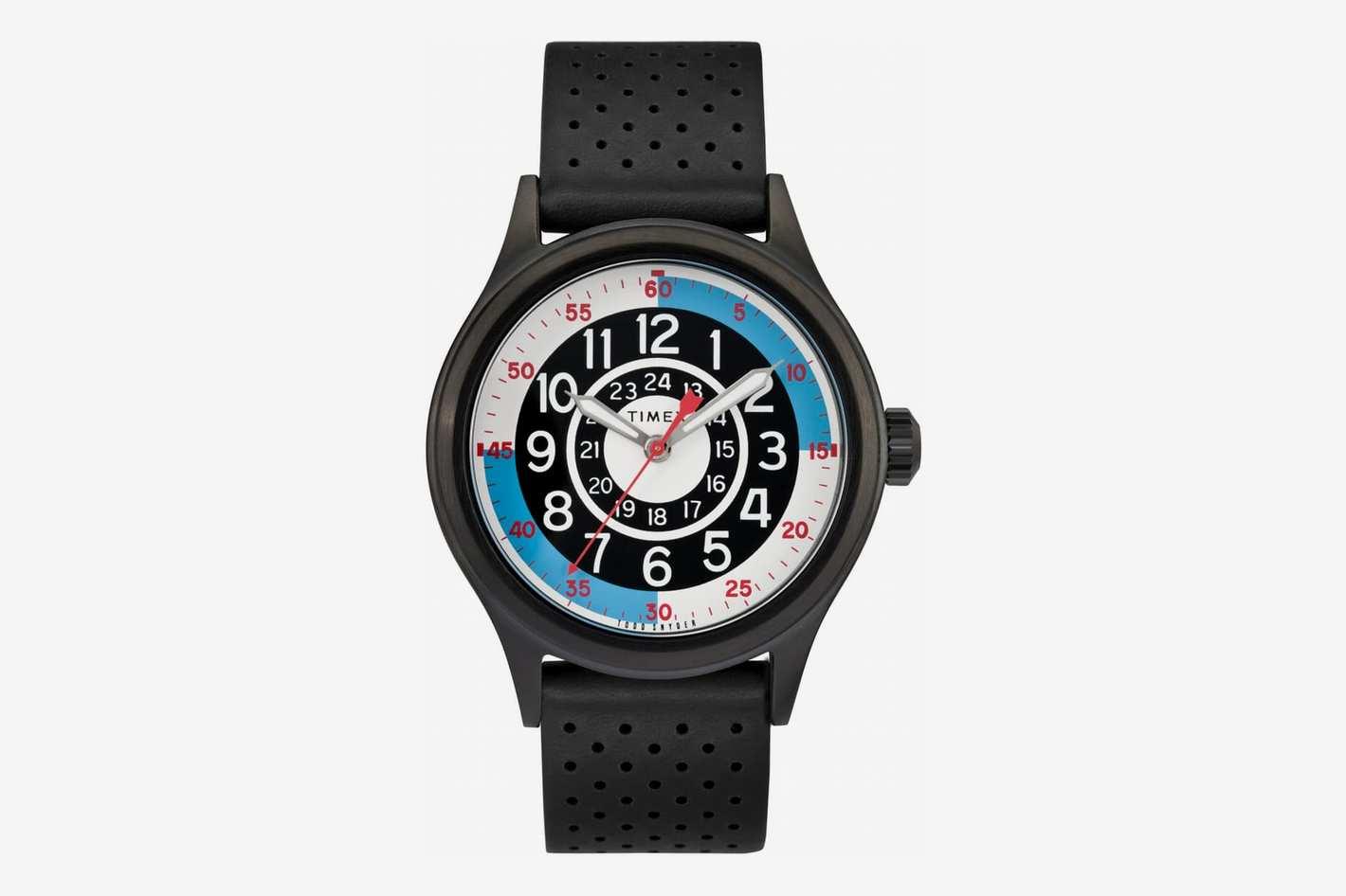 Timex x Todd Snyder Blackjack Leather Strap Watch, 40mm