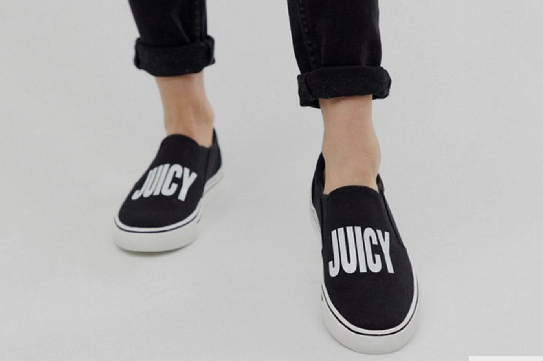 Juicy Couture Logo Slip On Sneaker