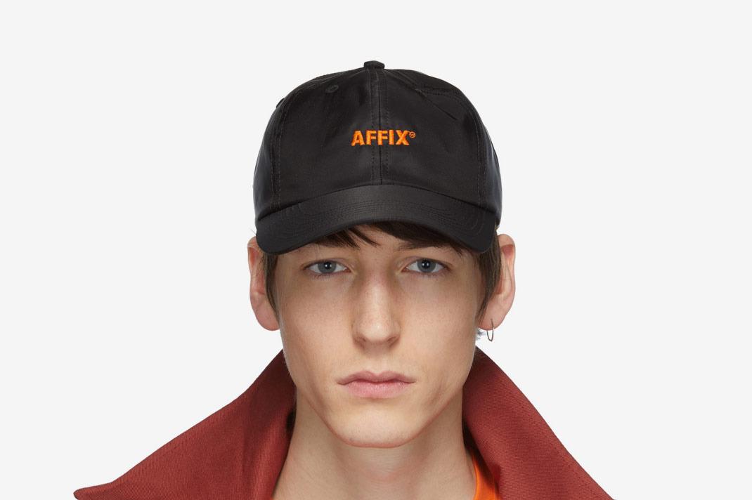 Affix Black Logo Cap