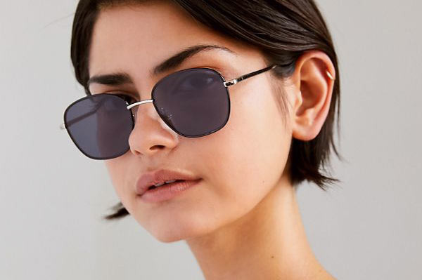Harlow Metal Square Sunglasses