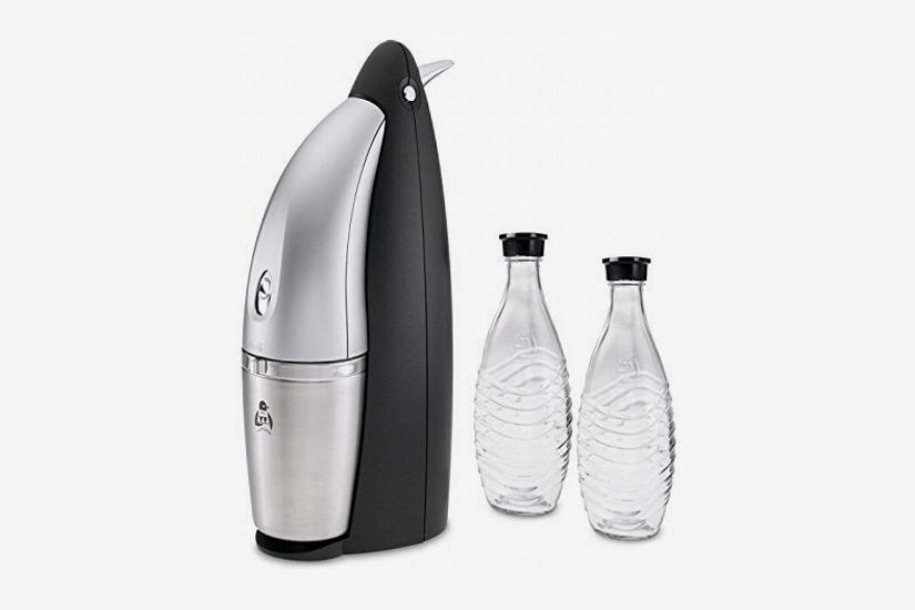 SodaStream Penguin Earth Friendly Glass Carafe