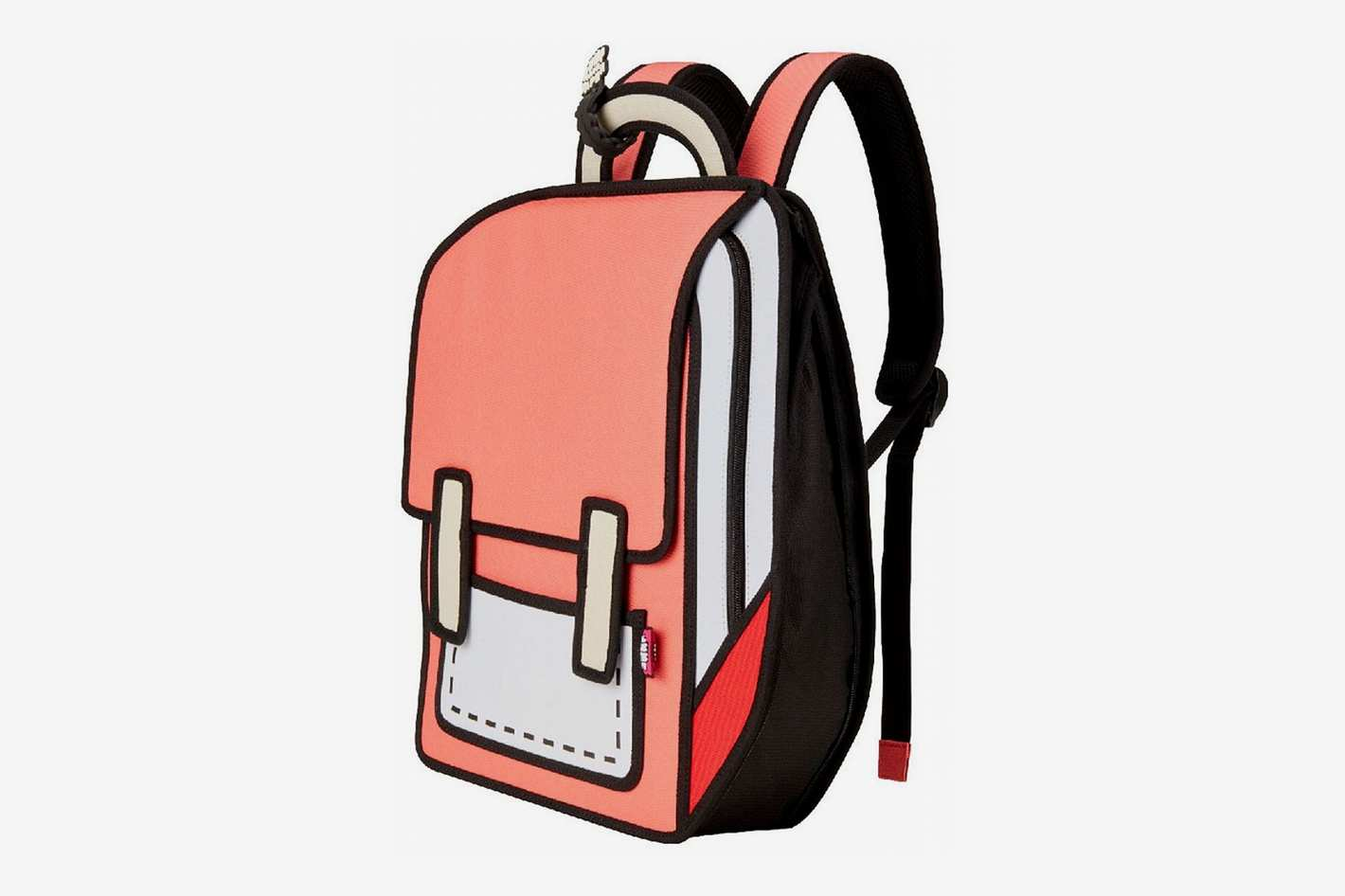 JumpFromPaper Fun and Playful 2D Backpack