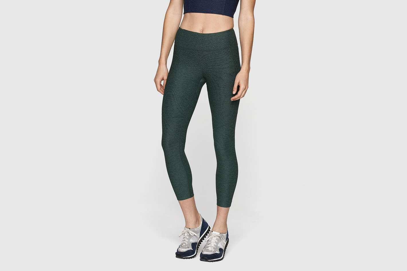 Outdoor Voices 3/4 Warmup Leggings (Hunter)