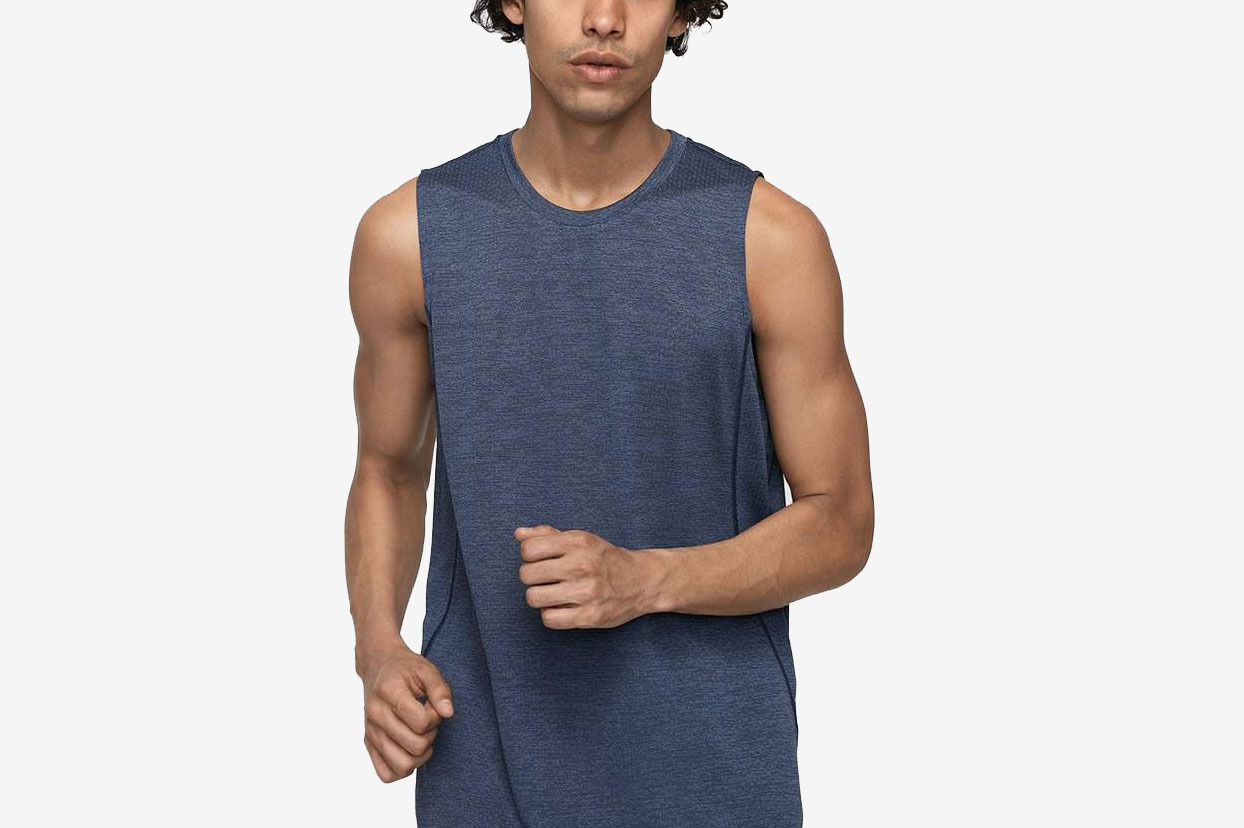 Outdoor Voices EcoMesh Tank Top (Navy)