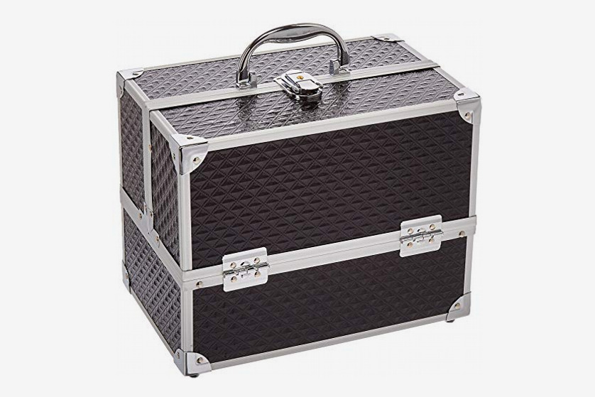Caboodles Love Struck Six Tray Makeup Train Case