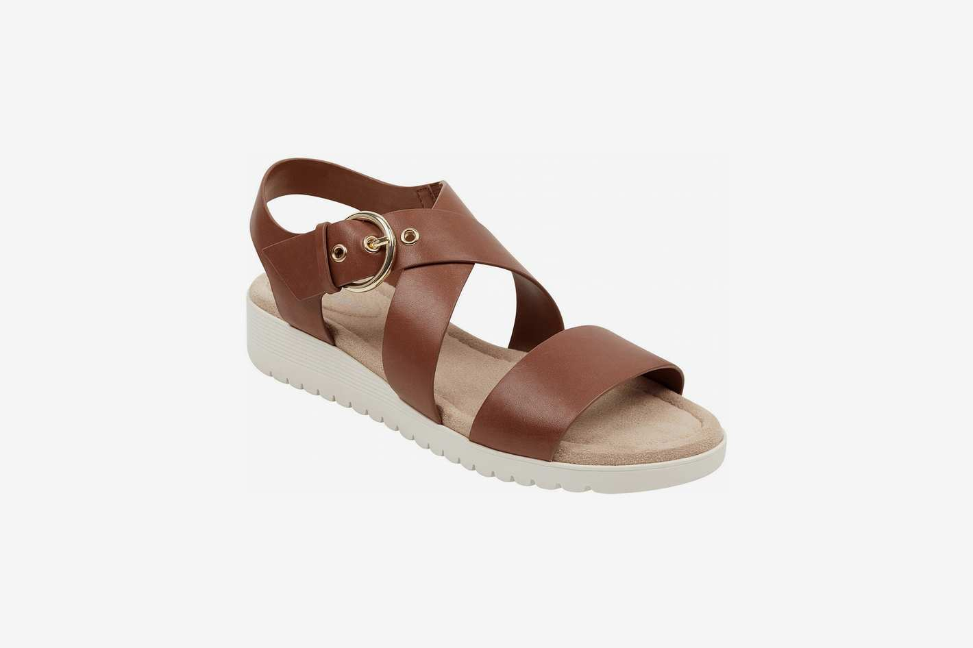 Easy Spirit Helix Flat Sandals