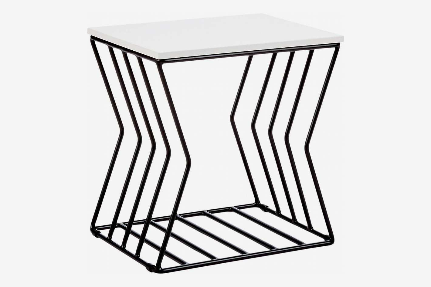 Now House by Jonathan Adler Concave Grid Accent Table