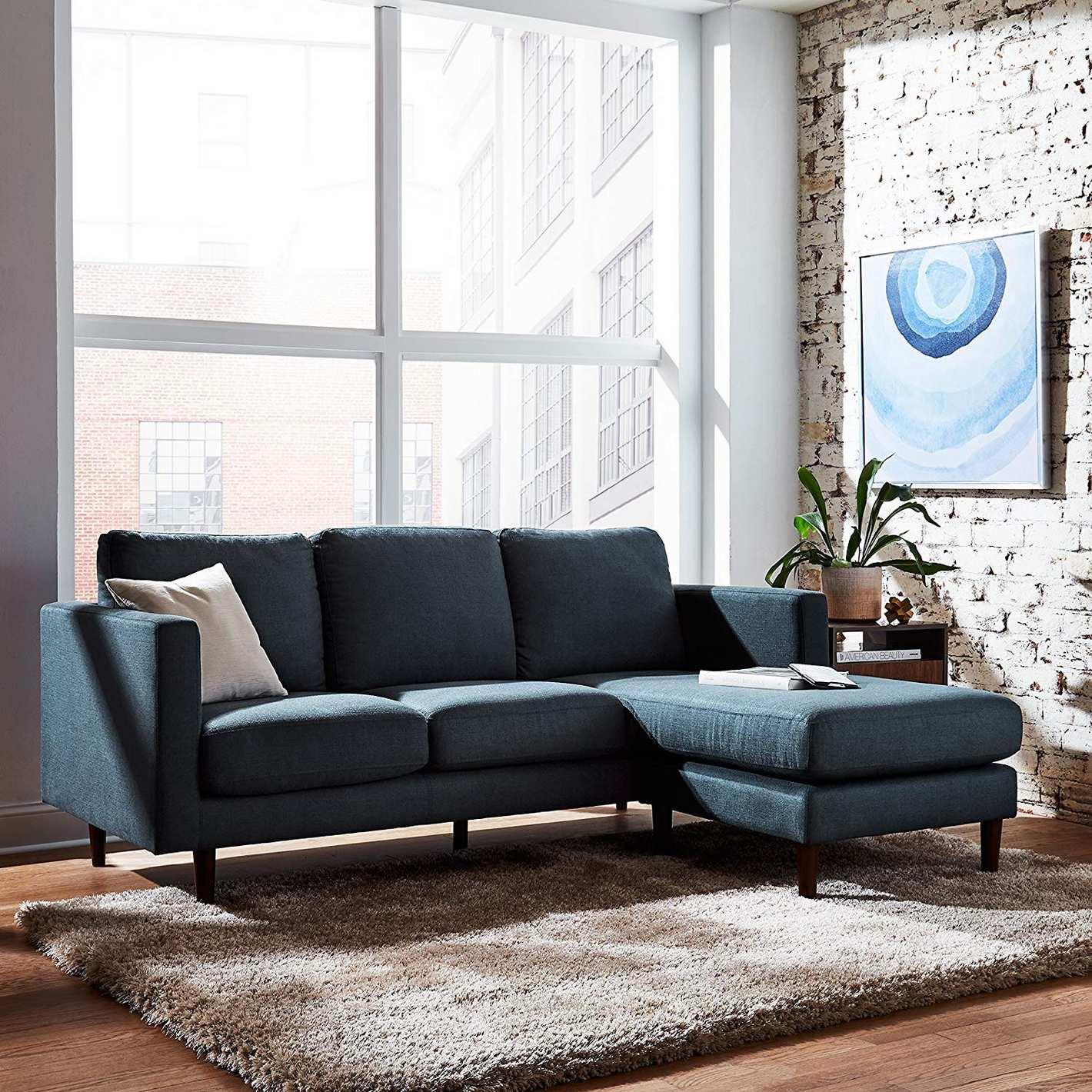 Rivet Revolve Mid-Century Modern Sectional Sofa