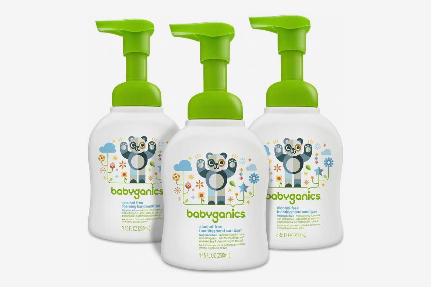 Babyganics Alcohol-Free Foaming Hand Sanitizer - 3 Pack