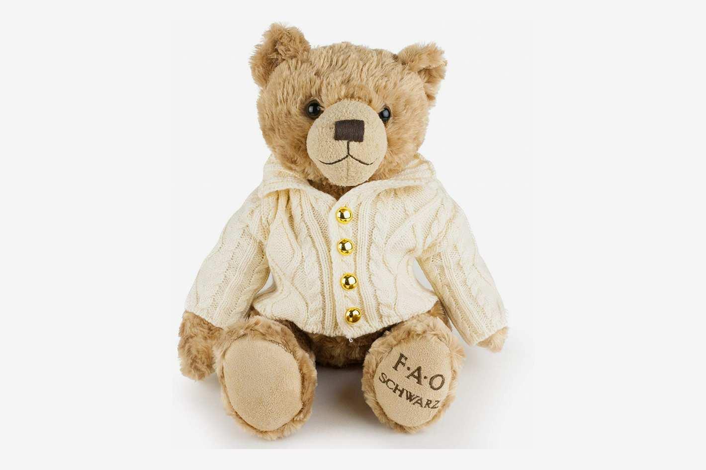 FAO Schwarz Original Classic Stuffed Teddy Bear