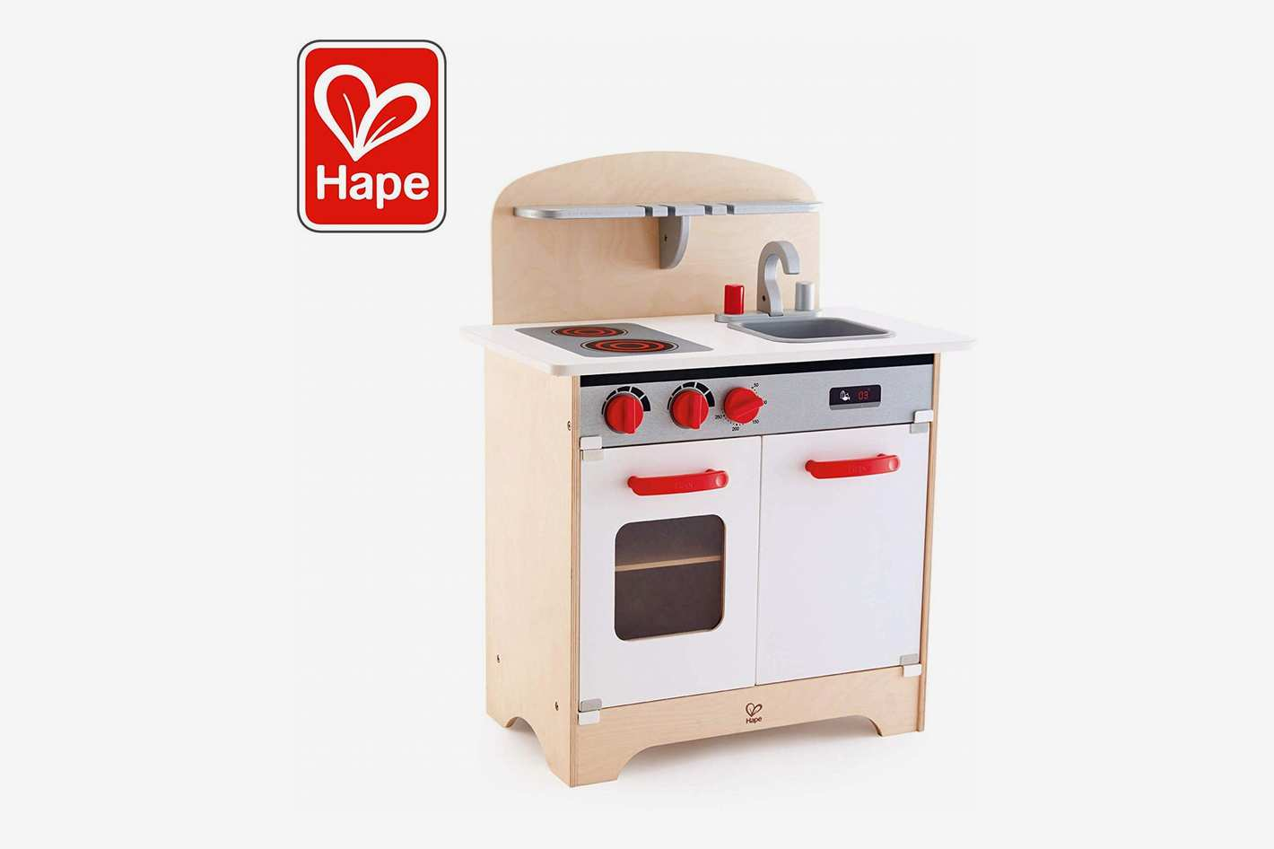 Hape Gourmet Kitchen Toy Fully Equipped Wooden Pretend Play Kitchen