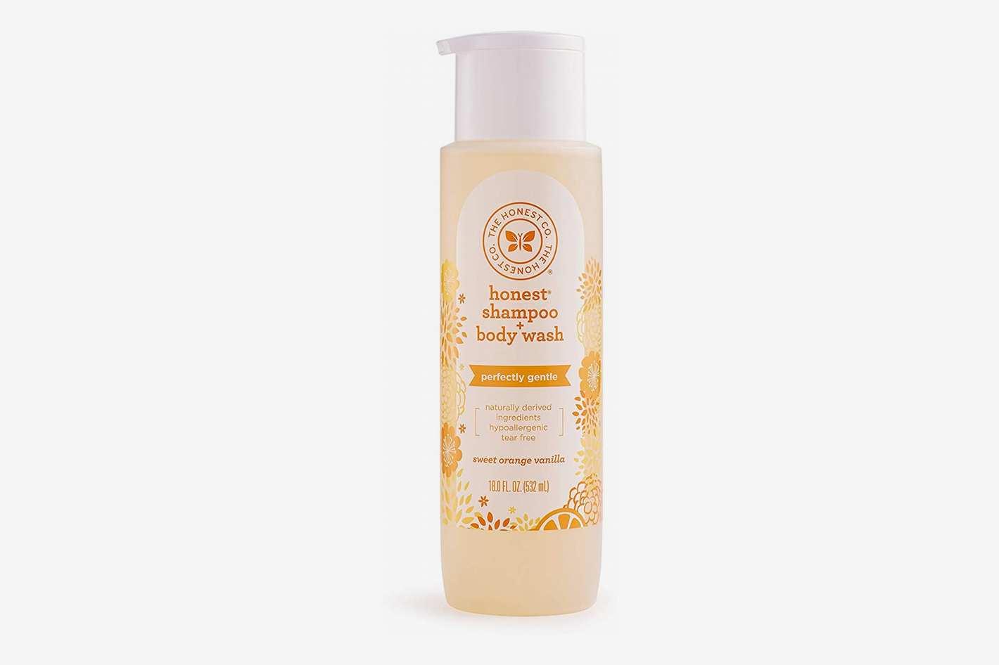The Honest Company Perfectly Gentle Shampoo and Body Wash, Sweet Orange Vanilla
