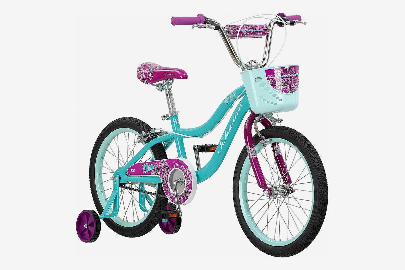 "Schwinn Elm Girl's Bike Featuring SmartStart Frame - 14"" Wheels"