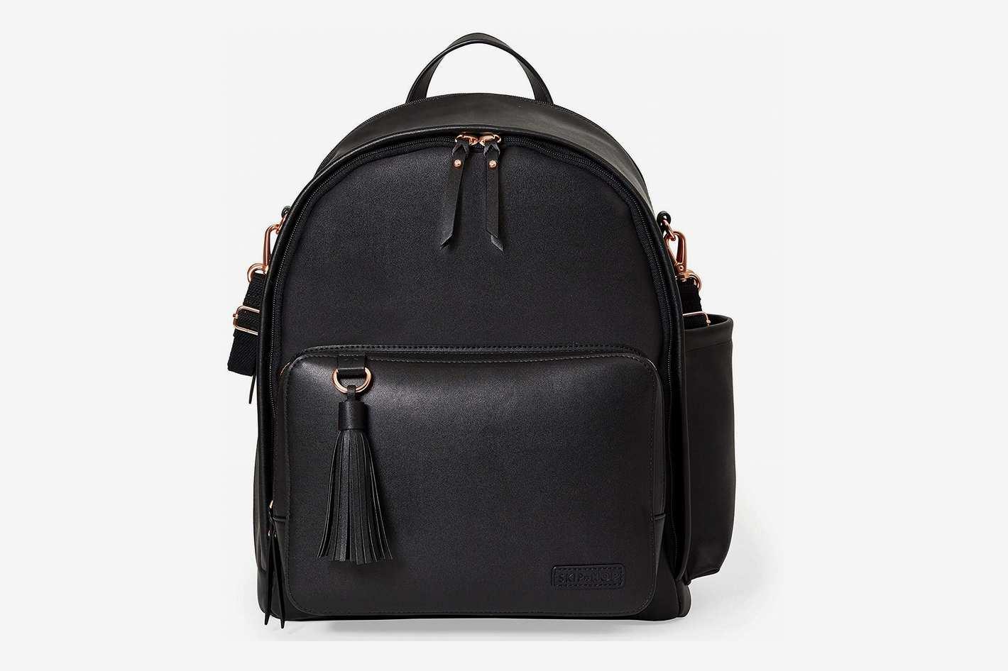 Skip Hop Greenwich Vegan Leather Diaper Bag Backpack