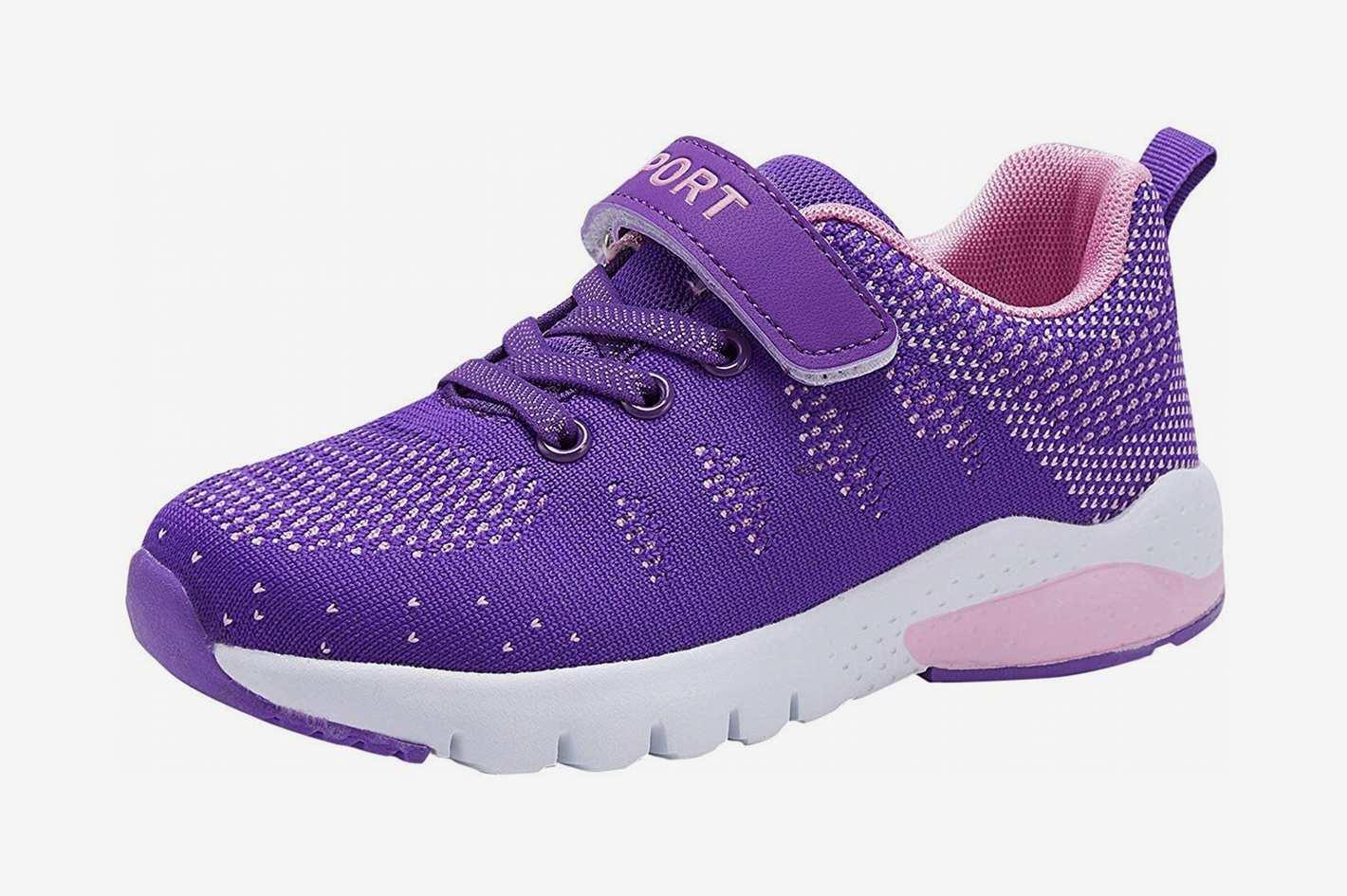 Caitin Kids Running Tennis Shoes Lightweight Casual Walking Sneakers