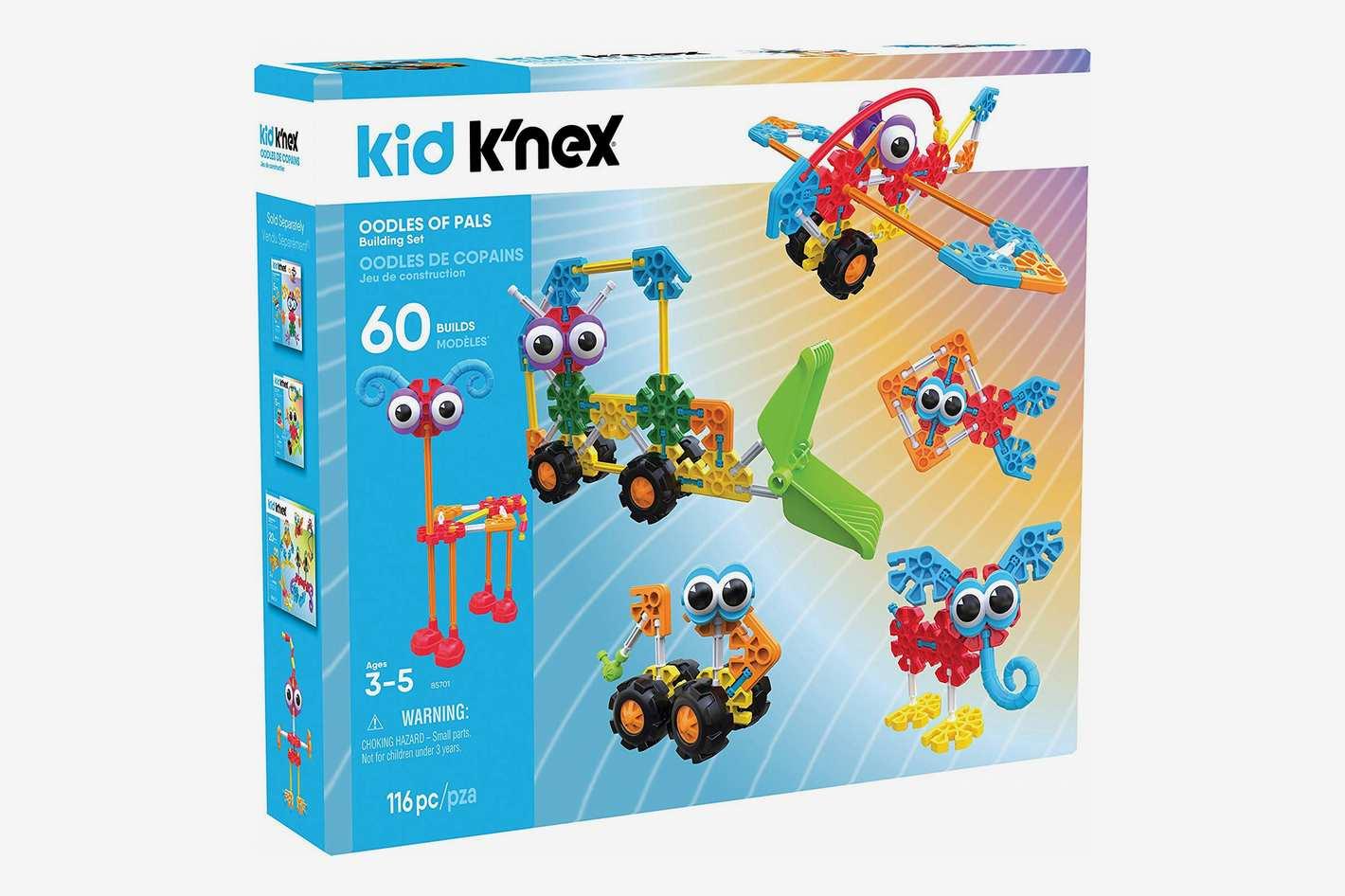 KID K'NEX – Oodles of Pals Building Set