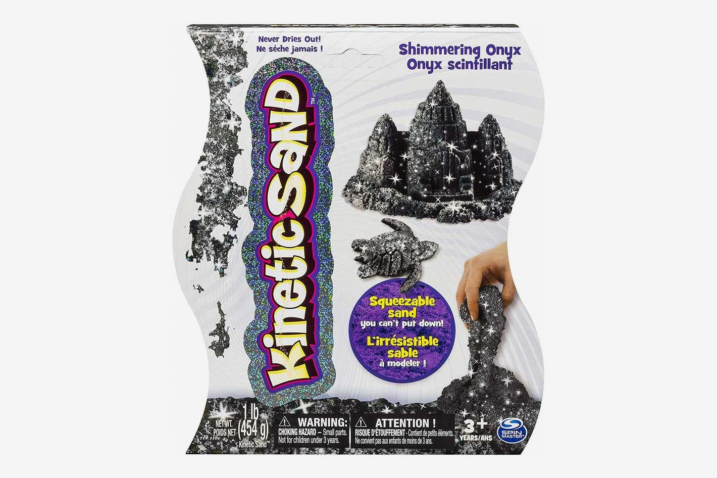 Kinetic Sand Shimmering Black Onyx Magic Sand