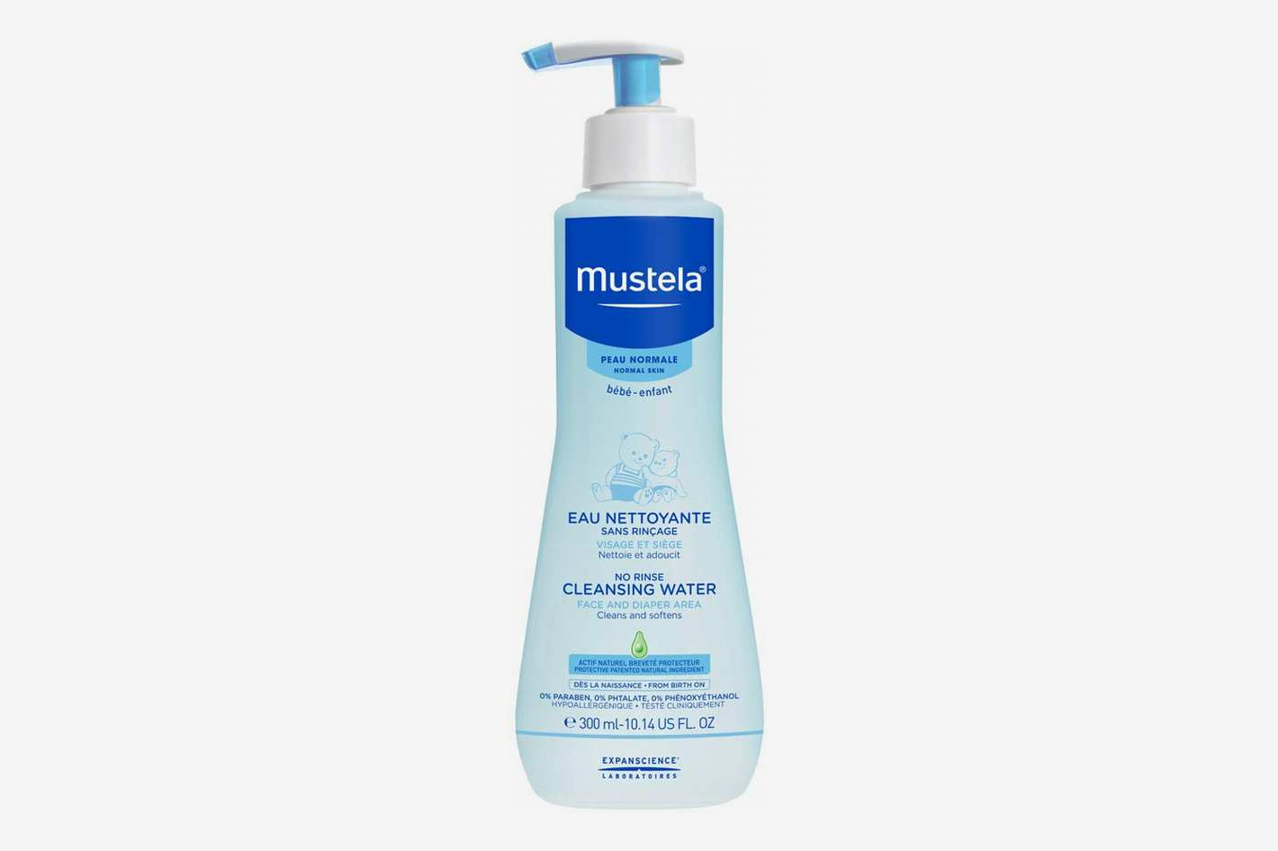 Mustela No Rinse Cleansing Water for Baby's Face, Body and Diaper